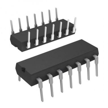 IC 4093 DIP14       (SCHMITT TRIGGERS)