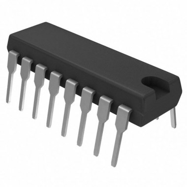 IC 4518 DIP16    (COUNTER)