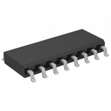 INTEGRIRANO VEZJE 74HCT595 SO16 SMD    (8 BIT SHIFT REGISTER)