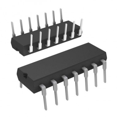 IC TL084CN DIP14    ( AMPLIFIER )