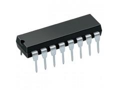 IC DG301ACJ DIP16  (TTL COM. CMOS ANAL. SWITCHES)
