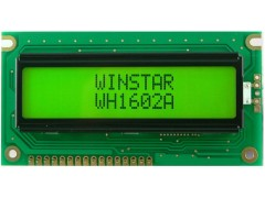 DISPLAY LCD 2X16-OSV / WH1602A-YGH-ETK# ZELEN