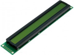 DISPLAY LCD 2X40-OSV / DEM40271SYH-LY