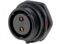 KON. 2POL Ž za PANEL IP68 (500V 30A)