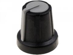 GUMB PLASTIČNI §16 / 6mm (črna-siva)