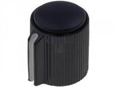 GUMB PLASTIČNI §13 / 6mm (črna-črna)