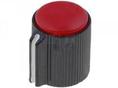 GUMB PLASTIČNI §13 / 6mm (črna-rdeča)