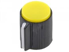 GUMB PLASTIČNI §13 / 6mm (črna-rumena)