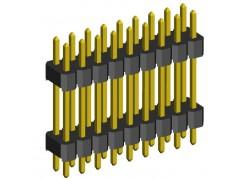LETVICA 2X36 M 2PLASTIKI R=2,54 L=40mm