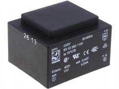 Nakup artikla TRANSFORMATOR 18V 4,5VA ZALIT  (250mA)