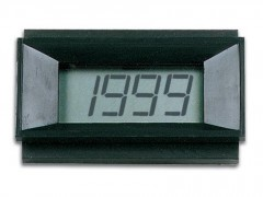 PMLCD - 3-1/2  LCD DIGITALNI PANEL METER