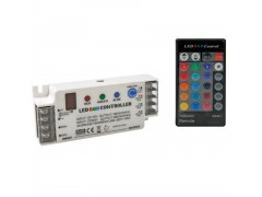 Nakup artikla CHLSC1 - RGB LED CONTROLLER WITH IR REMOTE