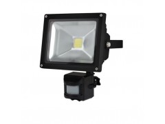 OUTDOOR LED FLOODLIGHT WITH PIR SENSOR - 20 W EPIS